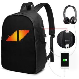 バックパック リュックサック オレンジ アヴィーチー ロゴ USBボード 大容量 盗難防止 多機能 耐衝撃 旅行 通学 出張 負担軽減 メンズ レディース 登山 軽量 アウトドア 個性的