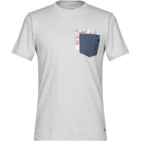 《セール開催中》SSEINSE メンズ T シャツ ライトグレー S コットン 100%