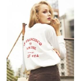 (LIPSTAR/リップスター)VELVASHEEN×LIPSTAR Tシャツ/レディース オフホワイト