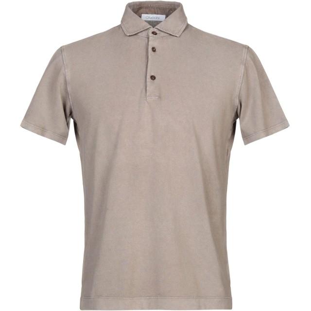 《セール開催中》CRUCIANI メンズ ポロシャツ カーキ 50 コットン 100%