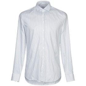 《期間限定セール開催中!》HAMAKI-HO メンズ シャツ ホワイト M コットン 97% / ポリウレタン 3%