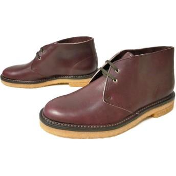 [リーガル] 52UR チャッカブーツ 革靴 ショートブーツ メンズ DBR 25.0cm