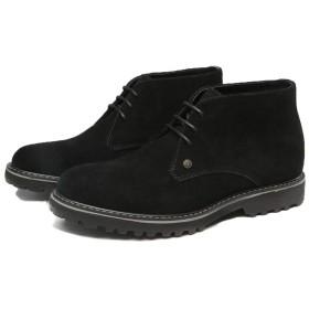 ブーツ メンズ ショートブーツ スエード 革靴 皮靴 男性の 紳士靴 ブラック レースアップ ワークブーツ 黒 茶色 27.5cm 青 チャッカブーツ ビジネスシューズ カジュアルシューズ おしゃれ 2019 夏 秋 冬