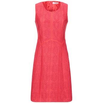 《セール開催中》BLUGIRL BLUMARINE レディース ミニワンピース&ドレス レッド S ポリエステル 100%