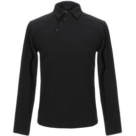 《期間限定セール開催中!》DANIELE ALESSANDRINI メンズ ポロシャツ ブラック M コットン 94% / ポリウレタン 6%