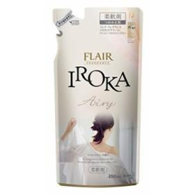 フレアフレグランス 柔軟剤 IROKA(イロカ) Airy(エアリー) 詰替用 480ml