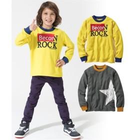 裏起毛プリントトレーナー2枚組(子供服 男の子 ジュニア服) (トレーナー・スウェット)Sweatshirts, 衣, 衛衣