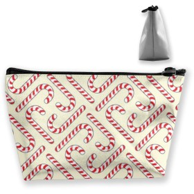 Makeup Bag for Purse Travel Makeup Pouch Mini Cosmetic Bag for Women Girls Red Chili