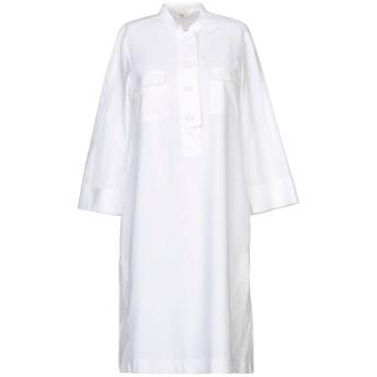 《セール開催中》GUGLIELMINOTTI レディース ミニワンピース&ドレス アイボリー 40 コットン 100%
