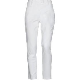 《セール開催中》PEUTEREY レディース パンツ ホワイト 42 コットン 97% / ポリウレタン 3%