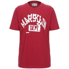 《期間限定セール開催中!》FRANKLIN & MARSHALL メンズ T シャツ レッド XS コットン 100%