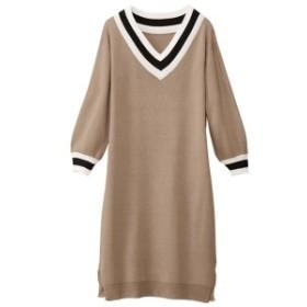 ジーラ バイ リュリュ(ファッション)(GeeRA (fashion))/チルデンニットロングワンピース