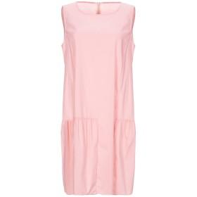 《セール開催中》L' AUTRE CHOSE レディース ミニワンピース&ドレス ピンク 44 コットン 60% / ナイロン 37% / ポリウレタン 3%