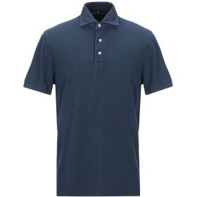 《期間限定セール開催中!》DELLA CIANA メンズ ポロシャツ ダークブルー 52 コットン 100%