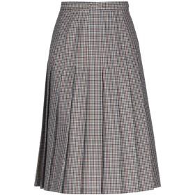 《セール開催中》MAISON MARGIELA レディース ひざ丈スカート グレー 40 ウール 74% / モヘヤ 20% / シルク 6%