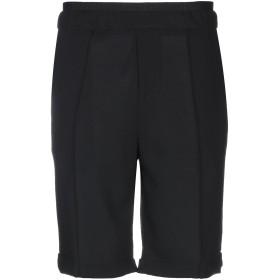《セール開催中》GAZZARRINI メンズ バミューダパンツ ブラック 44 バージンウール 100%
