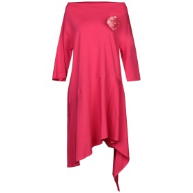 《期間限定セール開催中!》SISTE' S レディース ミニワンピース&ドレス フューシャ XS コットン 94% / ポリウレタン 6%