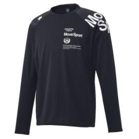 【セール】 デサント メンズスポーツウェア 長袖機能Tシャツ HEAT NAVI 長袖シャツ DMMOJB61 NV メンズ NV