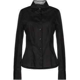 《期間限定セール開催中!》DEK'HER レディース シャツ ブラック S コットン 97% / ポリウレタン 3%