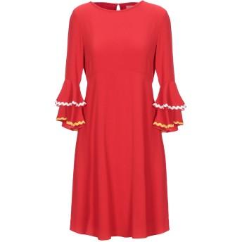《セール開催中》TRAFFIC PEOPLE レディース ミニワンピース&ドレス レッド XS ポリエステル 100%