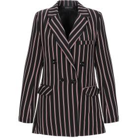 《セール開催中》VANESSA SCOTT レディース テーラードジャケット ブラック S ポリエステル 97% / ポリウレタン 3%