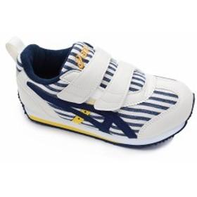 ASICS IDAHO MINI CT 3 アシックス アイダホ ミニ CT-3 / ネイビーブルー スニーカー キッズ 子供靴 ベルクロ マジックテープ スクスク T