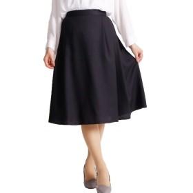 [マルイ] 大きいサイズ レディース スカート フレア タック 膝丈 通勤 機能性スーツ しわ防止/ゴールドジャパン(大きいサイズ)(GOLDJAPAN)