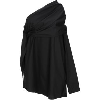 《セール開催中》COLLECTION PRIVE レディース ミニワンピース&ドレス ブラック 40 コットン 100%