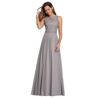 Ever-Pretty ロングドレス 演奏会 ドレス キャバ イブニングドレス 結婚式 ドレス ブライズメイド ドレス パーティードレス ウェディングドレス 大きいサイズ