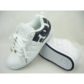 DC SHOE[ディーシーシューズ][靴] ALLIANCE SE[アライアンスSE]301152 WVA(ホワイト/メタルシルバー)STREET/B系/HIP HOP (25.5cm)