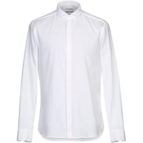 《セール開催中》PAOLO PECORA メンズ シャツ ホワイト 41 コットン 100%