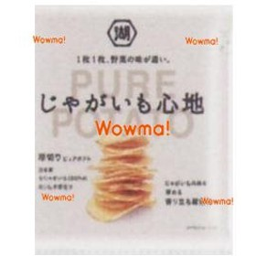 WOxコイケヤ 58G じゃがいも心地じゃがいもの味を深める香り立ち醤油味×12個【x】