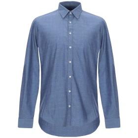《セール開催中》HAMAKI-HO メンズ シャツ ダークブルー S コットン 100%