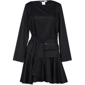 《セール開催中》SPORTMAX CODE レディース ミニワンピース&ドレス ブラック 42 コットン 65% / ポリエステル 35%