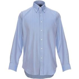 《期間限定セール開催中!》MATTEUCCI 1939 メンズ シャツ ブルーグレー 39 コットン 100%