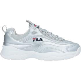 《セール開催中》FILA レディース スニーカー&テニスシューズ(ローカット) シルバー 9.5 紡績繊維 / 指定外繊維
