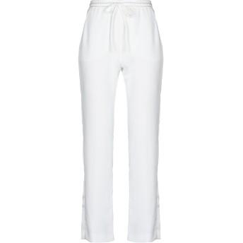 《セール開催中》P.A.R.O.S.H. レディース パンツ ホワイト XS ポリエステル 100%