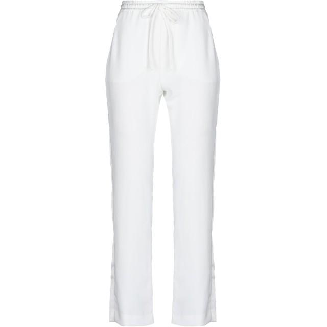 《期間限定セール開催中!》P.A.R.O.S.H. レディース パンツ ホワイト XS ポリエステル 100%