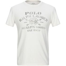 《期間限定セール開催中!》POLO RALPH LAUREN メンズ T シャツ アイボリー S コットン 100%