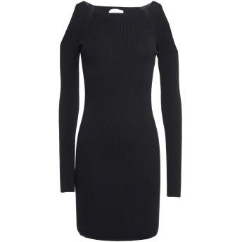 《セール開催中》VICOLO レディース ミニワンピース&ドレス ブラック one size レーヨン 70% / ポリエステル 30%