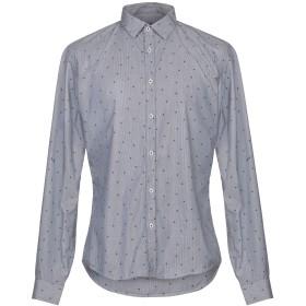 《セール開催中》INDIVIDUAL メンズ シャツ ダークブルー L コットン 100%