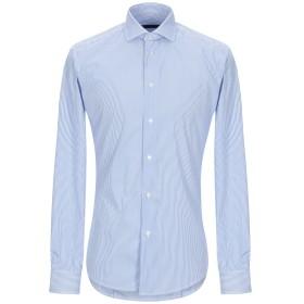 《期間限定セール開催中!》BRIAN DALES メンズ シャツ スカイブルー 39 コットン 80% / ナイロン 15% / ポリウレタン 5%