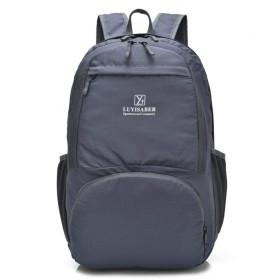 肩を折りたたみアウトドアスポーツバッグは、バッグの登山旅行します,203段落グレー