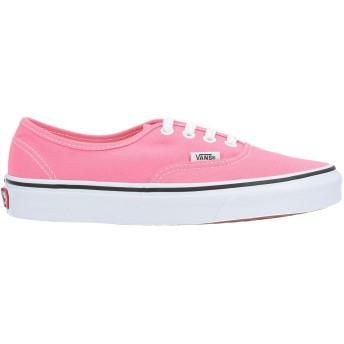 《セール開催中》VANS メンズ スニーカー&テニスシューズ(ローカット) ピンク 8 紡績繊維