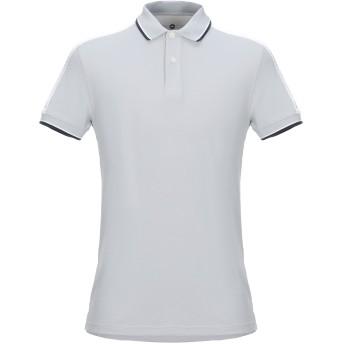 《セール開催中》CANADIENS メンズ ポロシャツ ライトグレー 46 ナイロン 100%