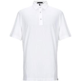 《セール開催中》CAPOBIANCO メンズ ポロシャツ ホワイト 54 コットン 100%