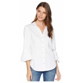 NYDJ エヌワイディージェー 服 一般 Ruffle Sleeve Shirt