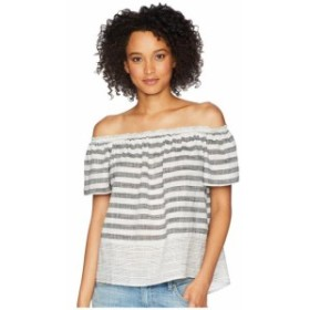 Lucky Brand ラッキーブランド 服 一般 Stripe Off Shoulder Top