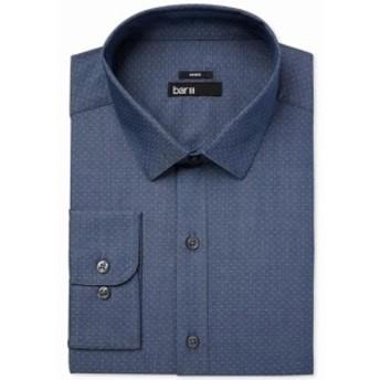 ファッション ドレス BAR III NEW Blue Mens Size Medium M Polka Dot Woven Button Down Shirt