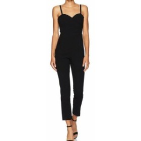 ファッション ジャンプスーツ Black Halo Black Womens Size 8 Daria Sweetheart Neck Jumpsuit